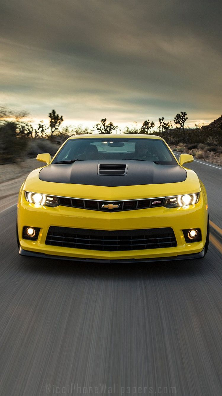 Chevrolet Camaro 2014 Iphone 66 Plus Wallpaper Carros