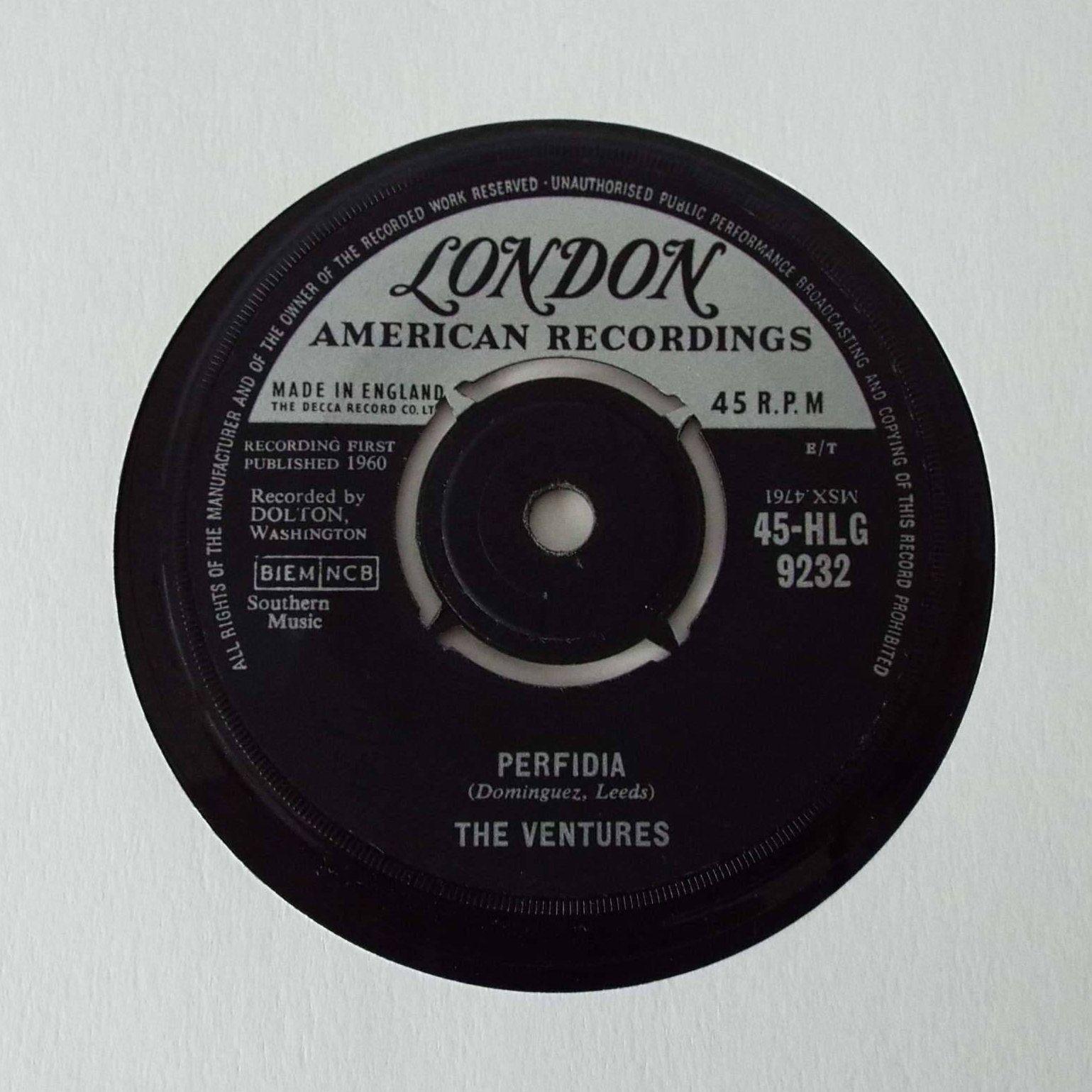 Vintage 1960 The Ventures Perfidia No Trespassing 7