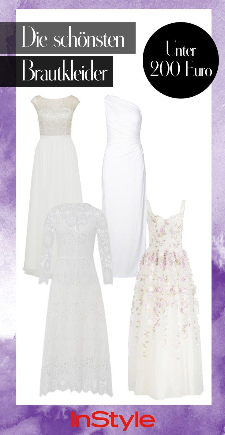 Ja, ich will – und zwar die schönsten Brautkleider unter 200 Euro ...