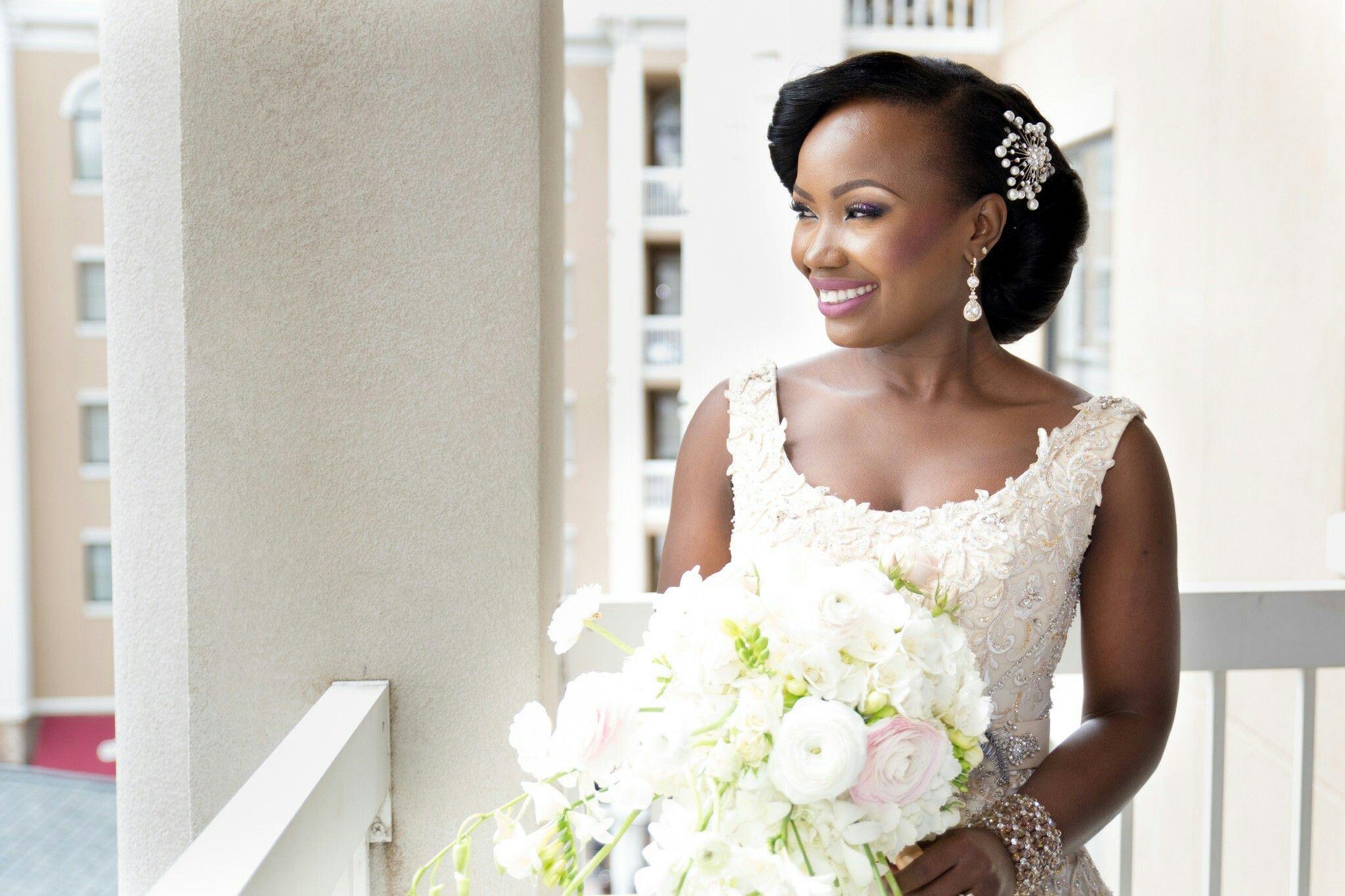 Beautiful Nigerian Bride Nigerian Wedding Hair African American ...