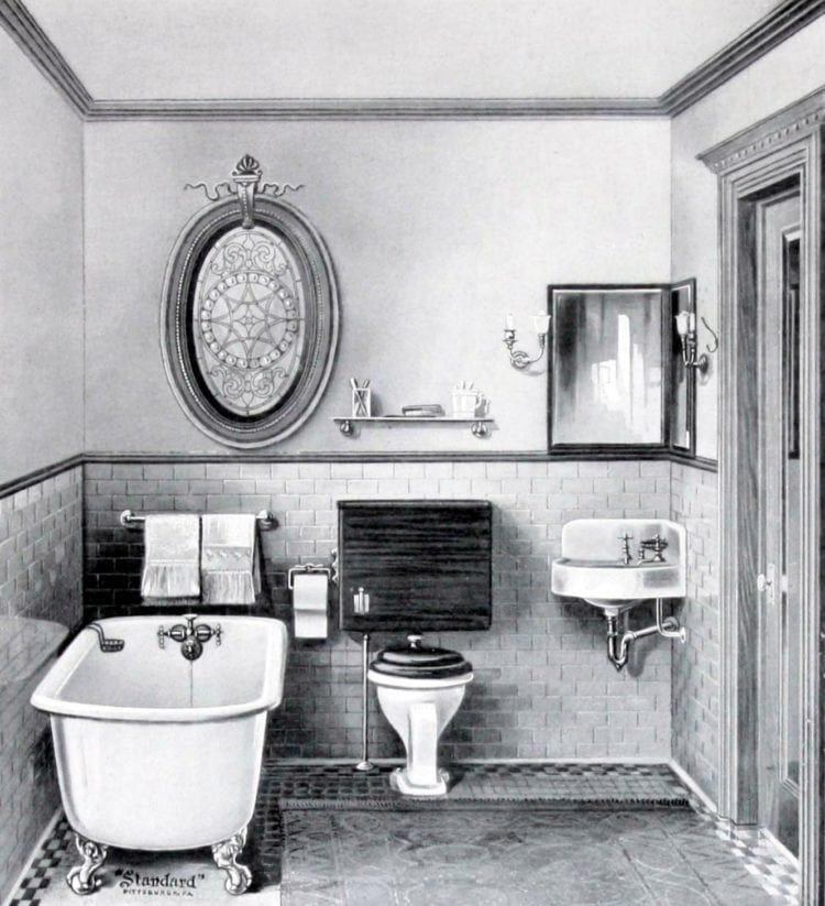 Photo of The hottest antique bathroom fittings from the turn of the century – Click Americana