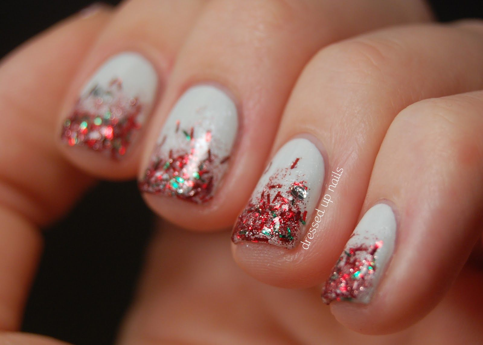 Christmas Nail Art Gallery | ... nails with Pure Ice Sleigh Ride, my ...