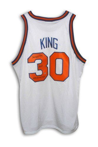 outlet store bacf1 6674a Bernard King Signed New York Knicks Jersey - 84-85 NBA ...