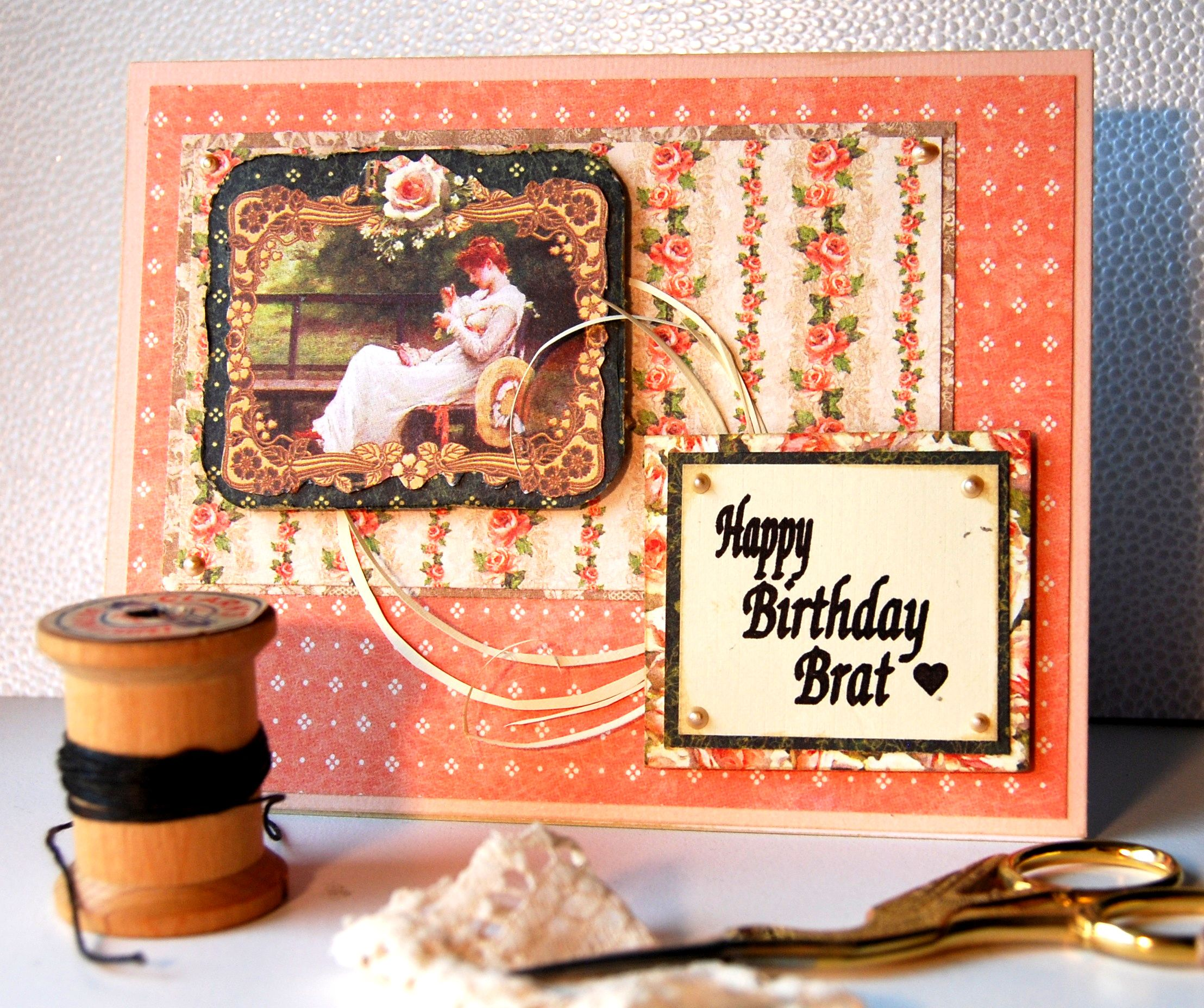 Card Size Standard A2 Greeting Card 425 X 55 This Shabby