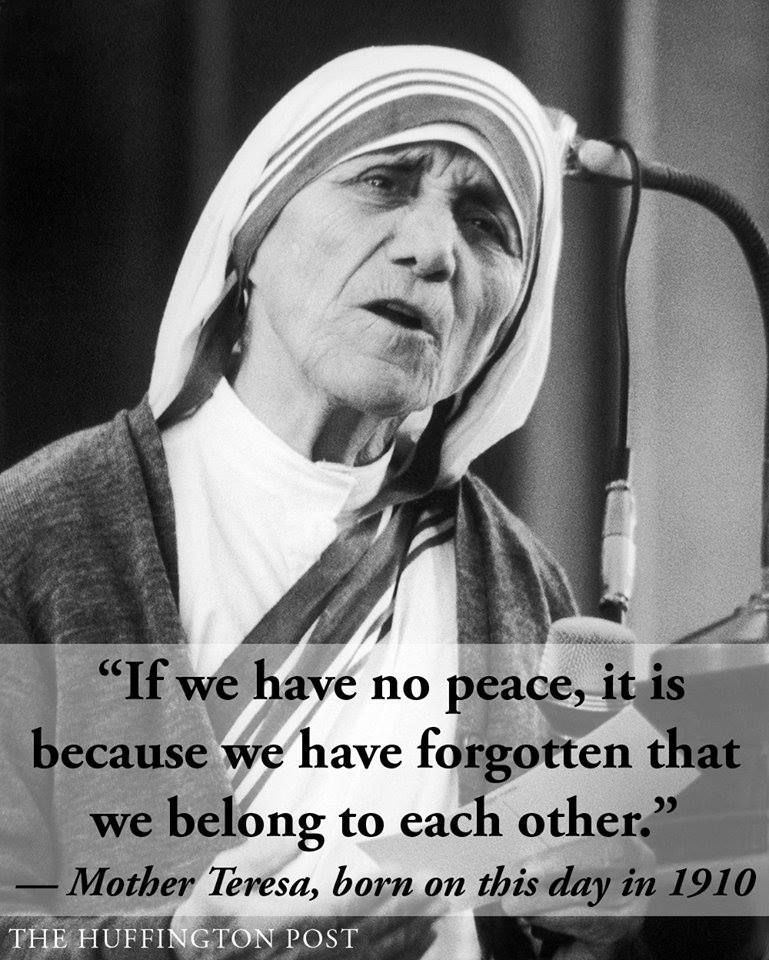 Sister Teresa Quotes: Birthday Mother Teresa Quotes. QuotesGram