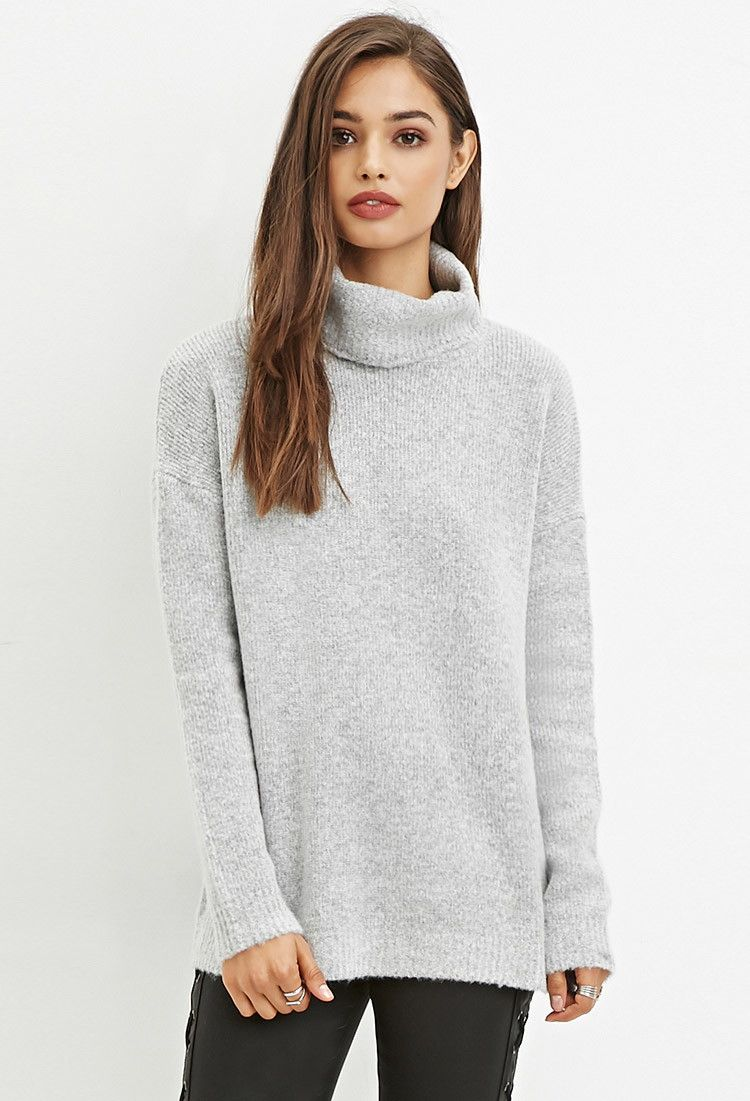 Halston Heritage Womens Long Sleeve Turtleneck Stitch Detail Sweater