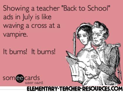It burns! Ha ha ha