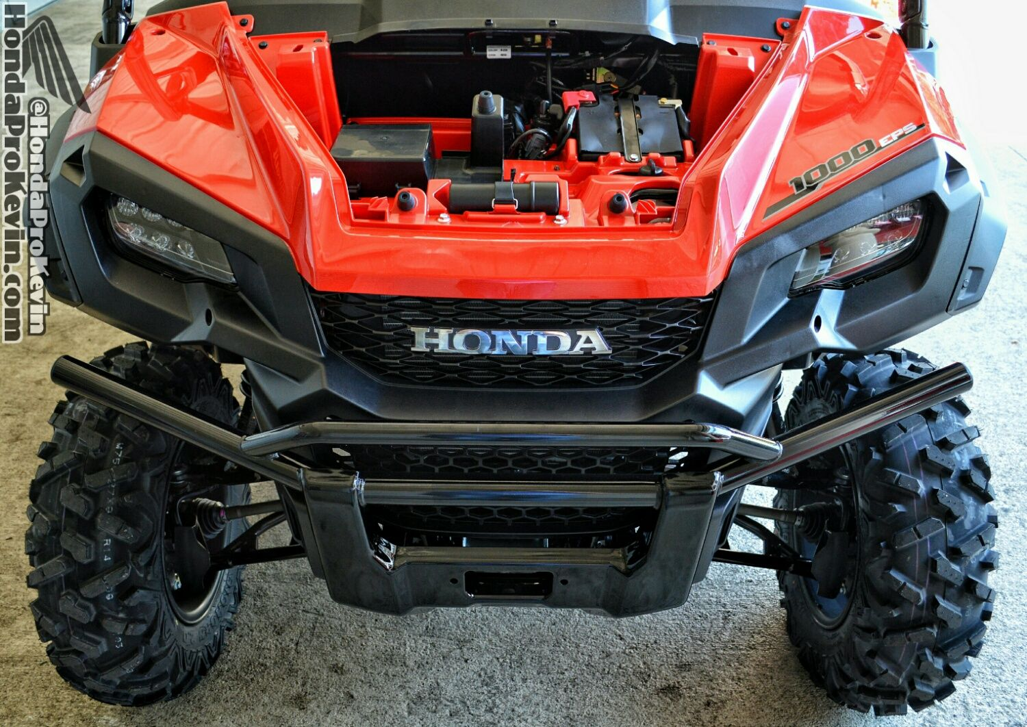 Honda pioneer 1000 front bumper check out pioneer utv side by side atv