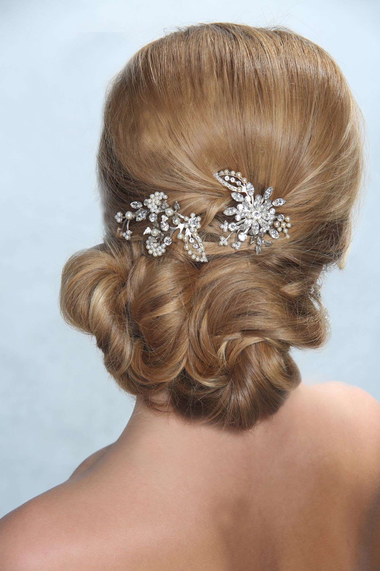 pretty woman bridal comb set | woman hair, bridal hair and vintage