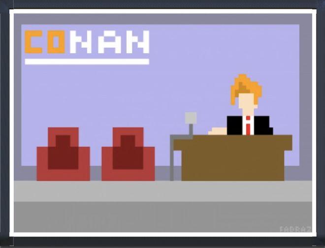 Conan pixel art