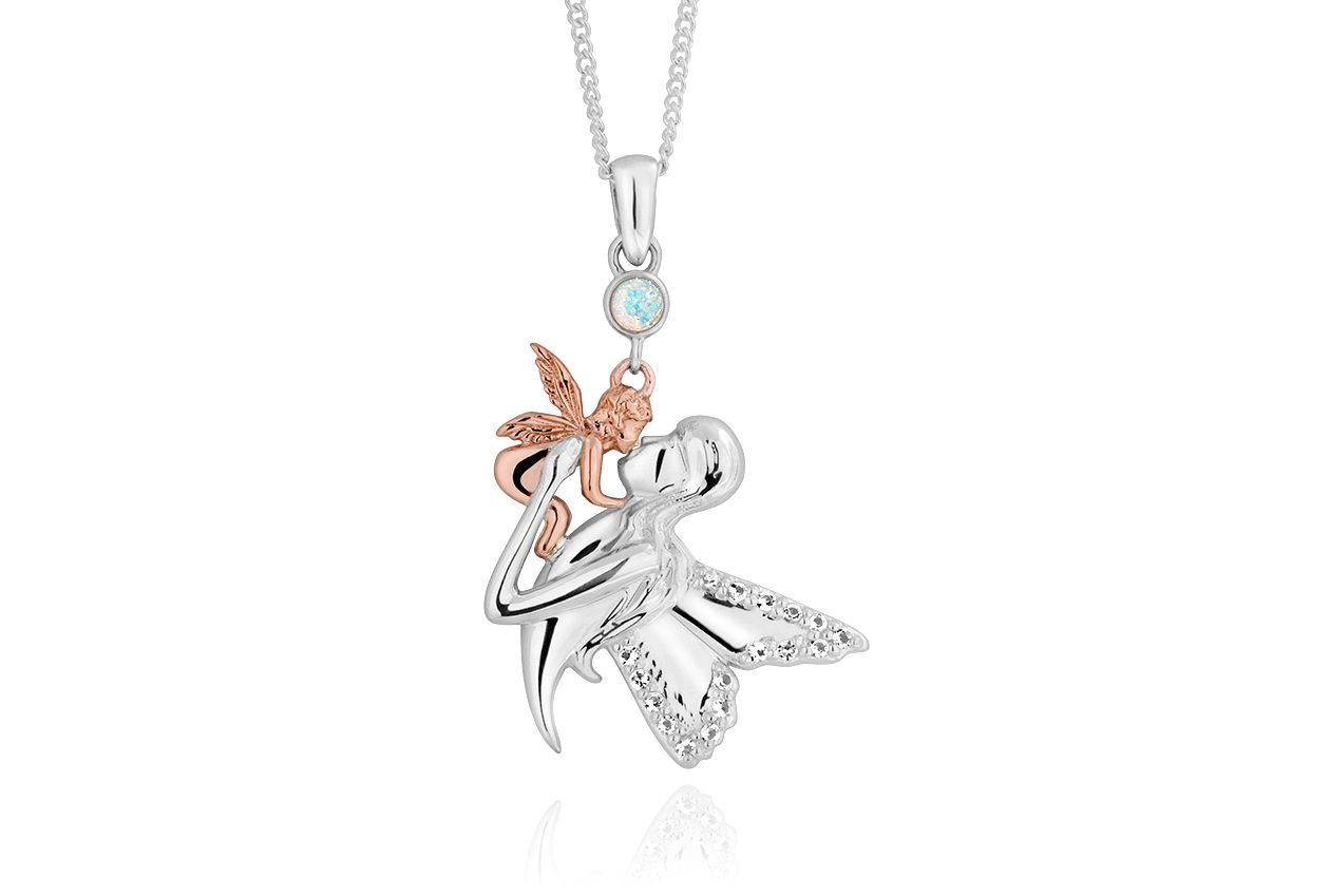 Mother and child fairy pendant 3smbfp pendants and necklaces mother and child fairy pendant 3smbfp pendants and necklaces clogau gold mozeypictures Images
