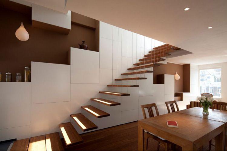 40 Foto Di Scale Interne Dal Design Moderno Escalera