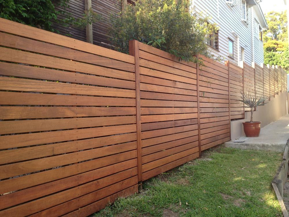 Image Result For Horizontal Wood Fences 8 Feet Fence Styles