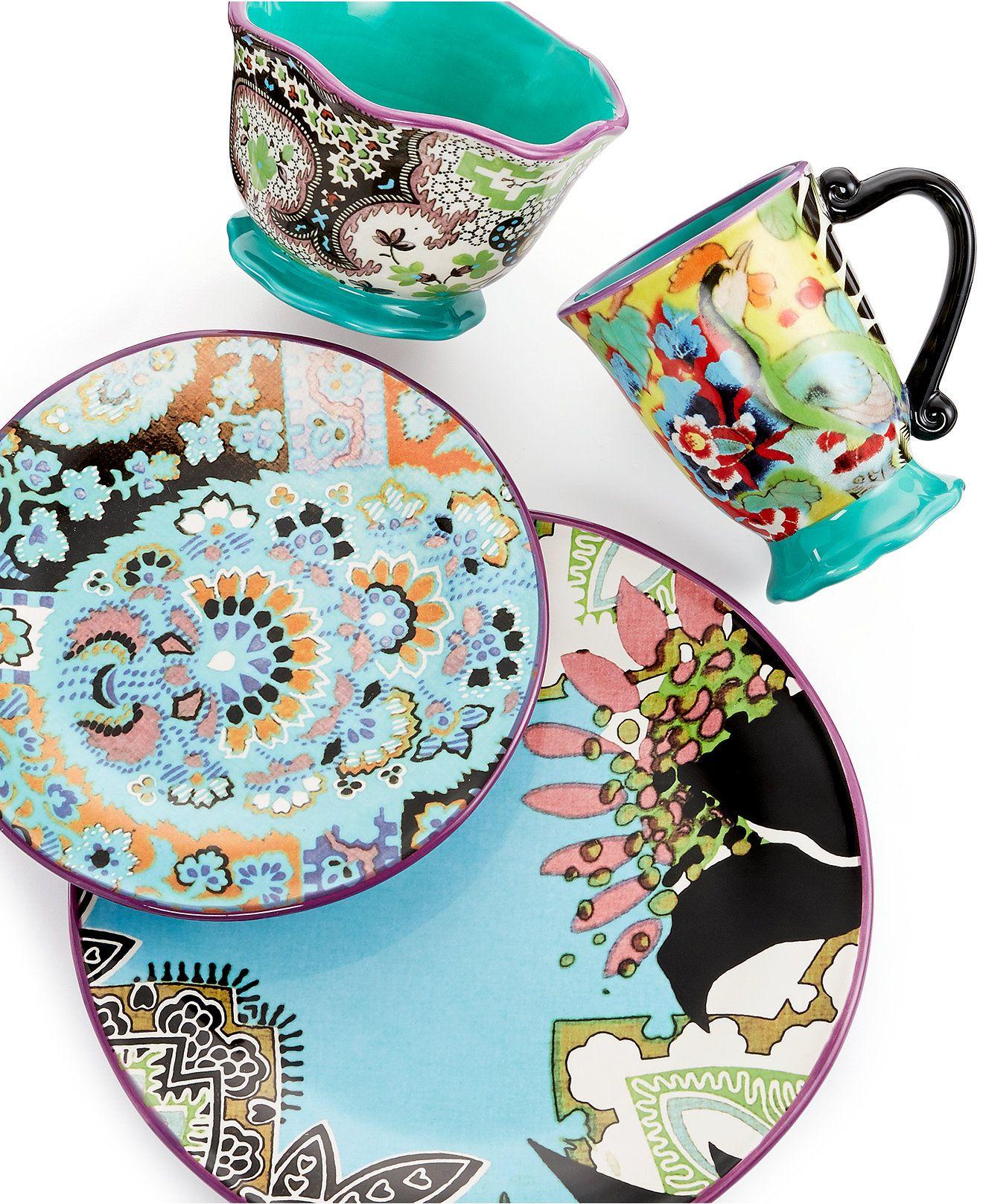Tracy Porter Rose Boheme Dinnerware Collection | Dinnerware, House ...