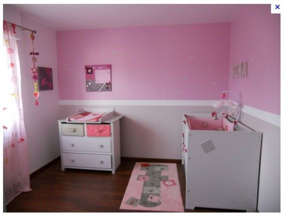 chambre bebe taupe rose - Recherche Google | If I Had a Girl ...