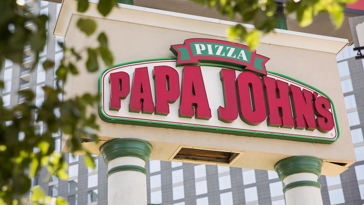 Papa John's files to drop apostrophe, change logo Change