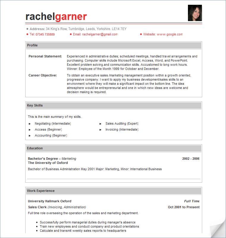 Resume template creator resume template builder sample