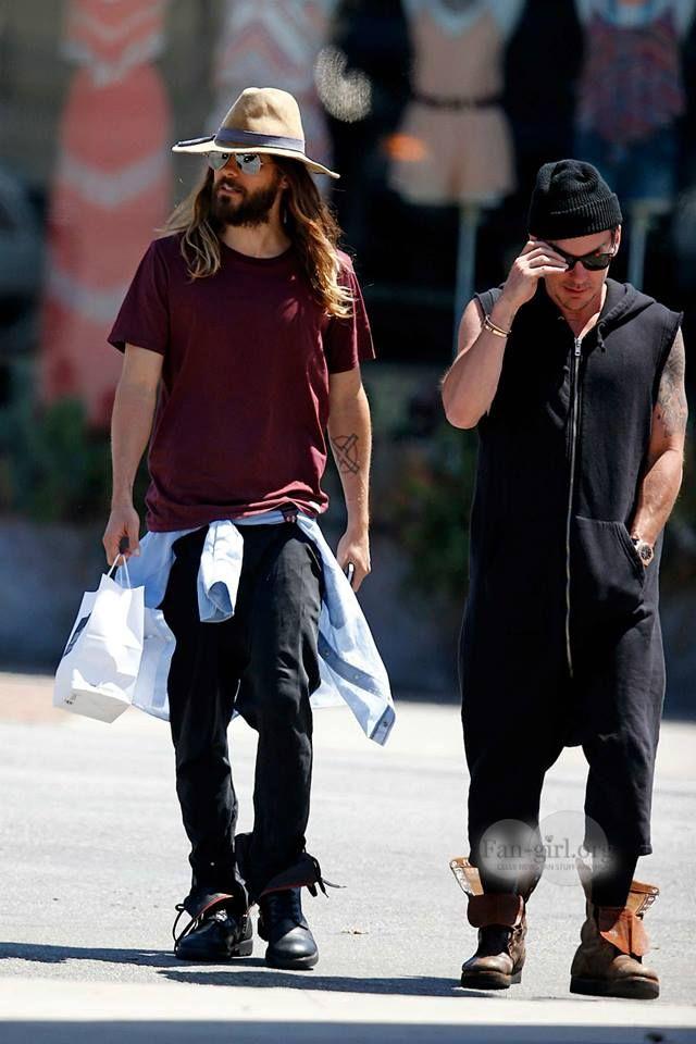 Shannon Jared Leto leaving Joan's on 3rd 2 June 2014