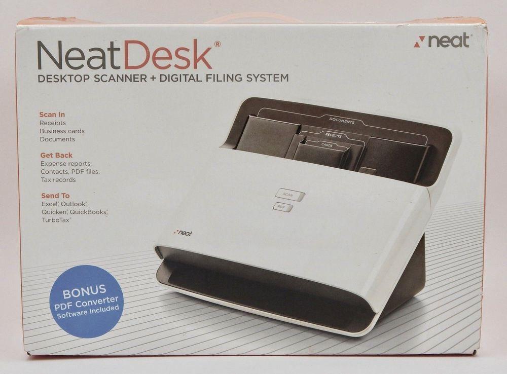 Neat Desk Nd 1000 Desktop Receipt Scanner Digital Filing System Digital Filing System Neat Desk Digital