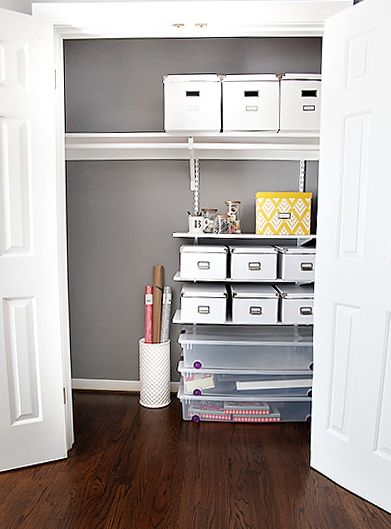 Organizing The Monica Closet 7th House On The Left Closet Room Organizer Closet And Office Combo Guest Room Office