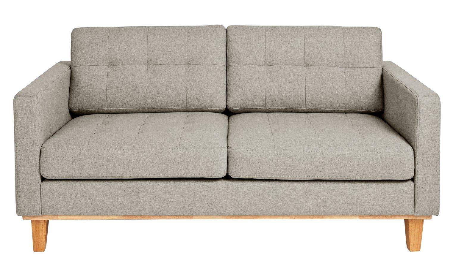 Argos Home Aliso 2 Seater Fabric Sofa Light Grey 380 00 Argos In 2020 Argos Home Light Gray Sofas Fabric Sofa