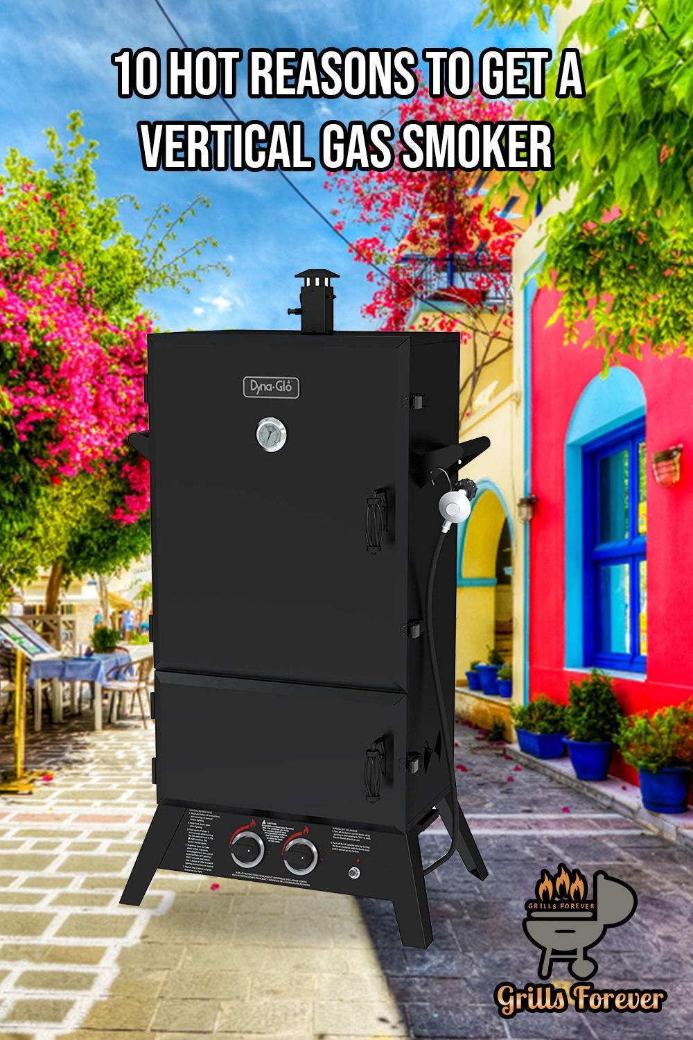 how to use a propane grill as a smoker