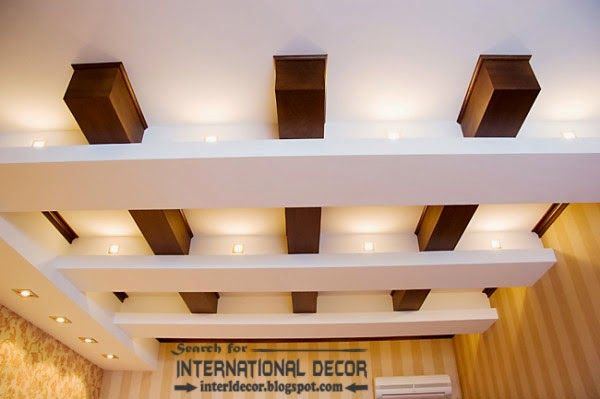 Japanese #false #ceiling design for small living room ...