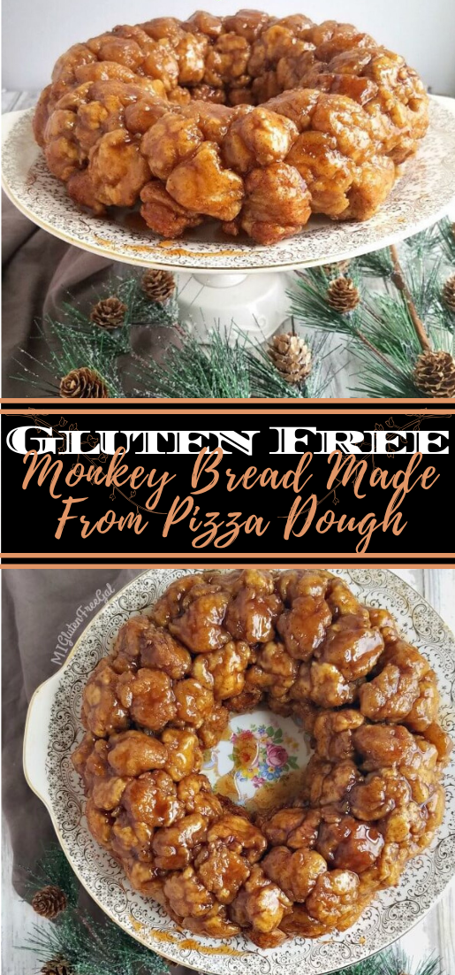Gluten Free Monkey Bread Made From Pizza Dough Desserts Cakerecipe Chocolate Fingerfood Easy Hol In 2020 Gluten Free Monkey Bread Monkey Bread How To Make Bread