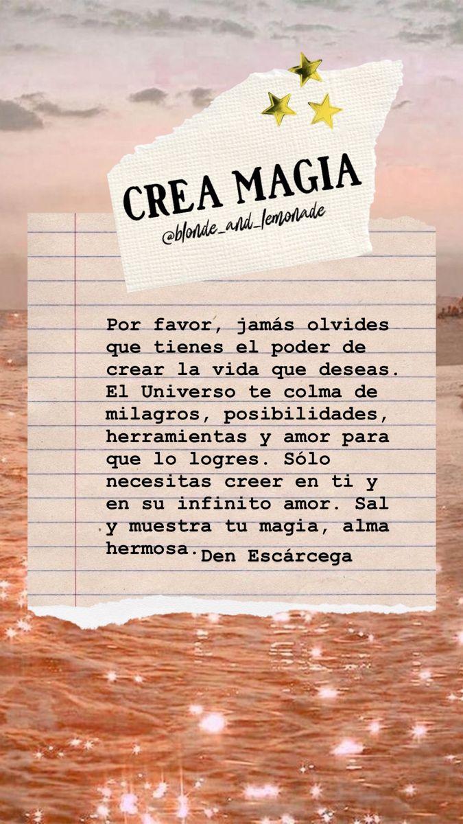 Crea magia 💫