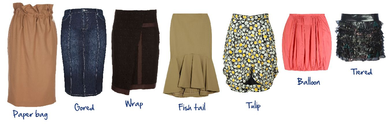 Skirt Styles Street Wear Archive Pinterest Different Types Different Shapes And Posts
