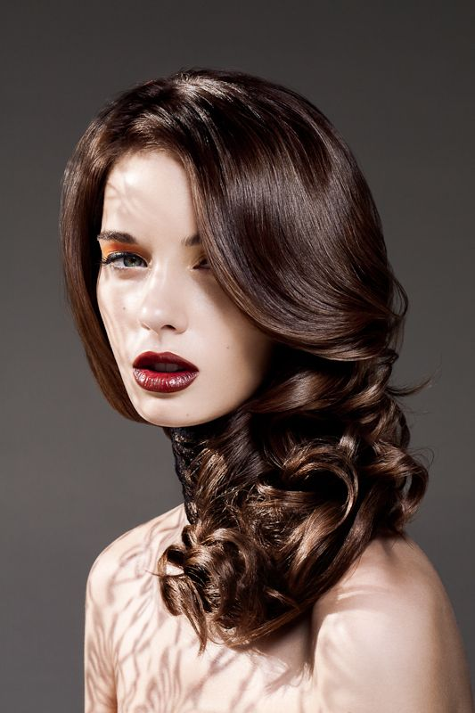 Glossy Brown Hair Color 2019 Hair Trends Hair Color