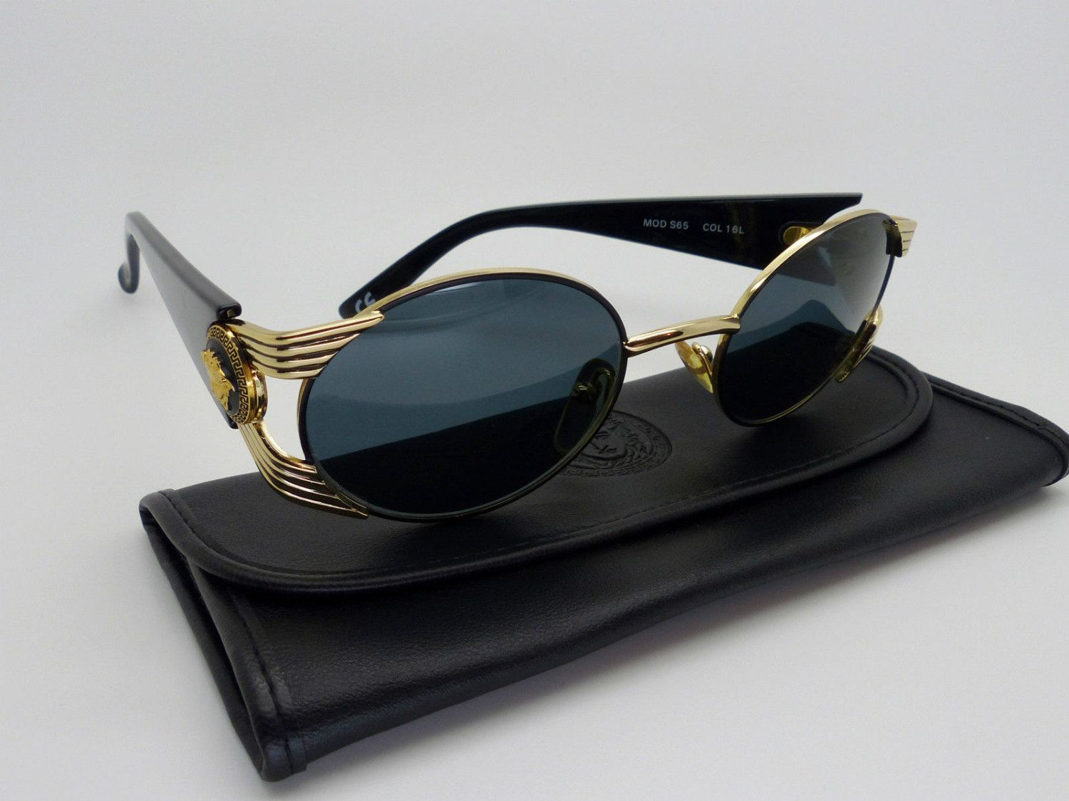 98eedbf590a Rare Vintage Gianni Versace Sunglasses Mod S65 Col 16L by VSOx on Etsy