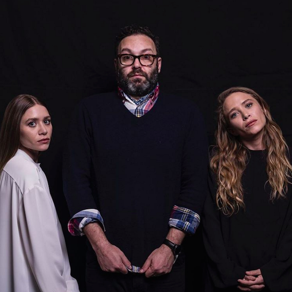 Behind-The-Scenes: Mary-Kate and Ashley Olsen's WWD Photo Shoot