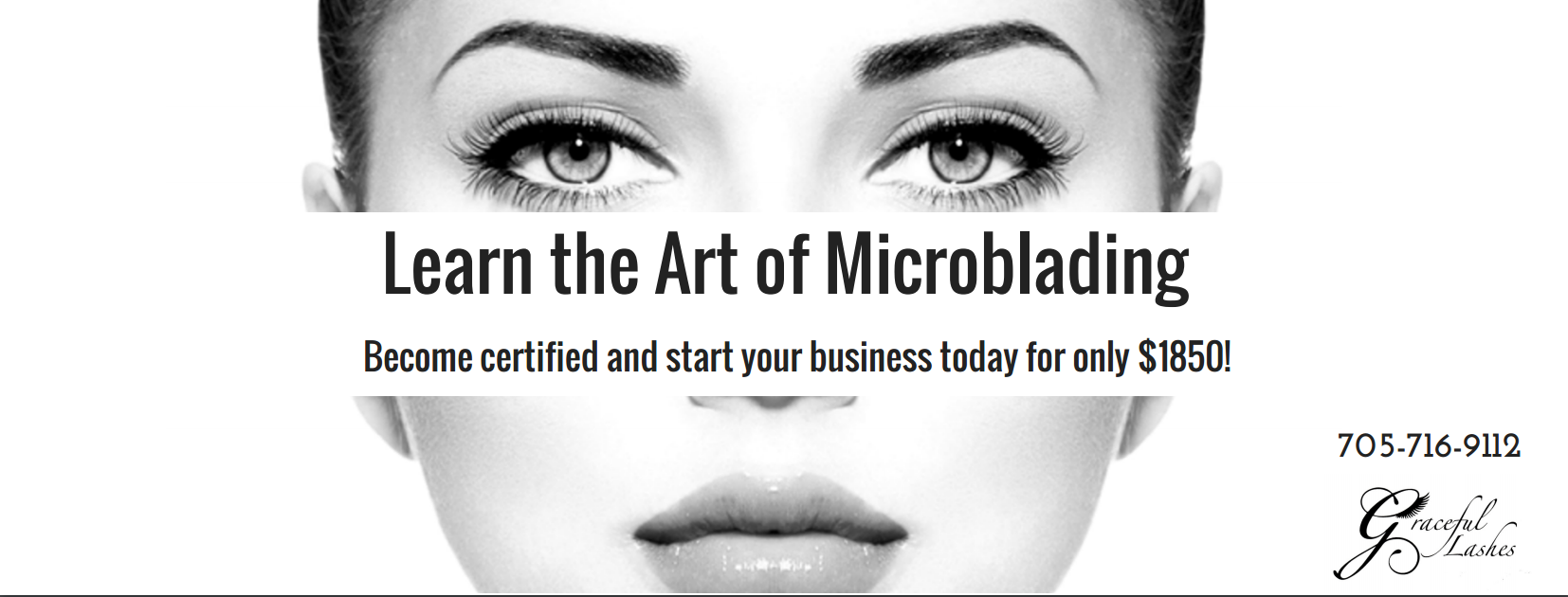 Graceful Lashes training academy offers Microblading/Eyebrow