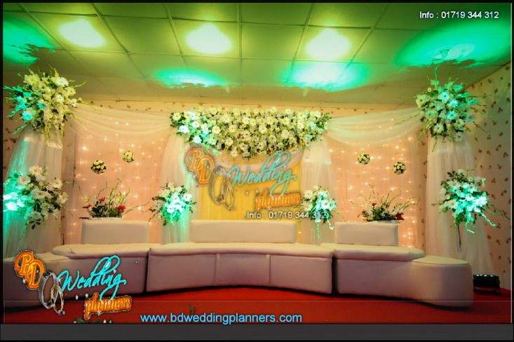Wedding Decoration Flower Stage