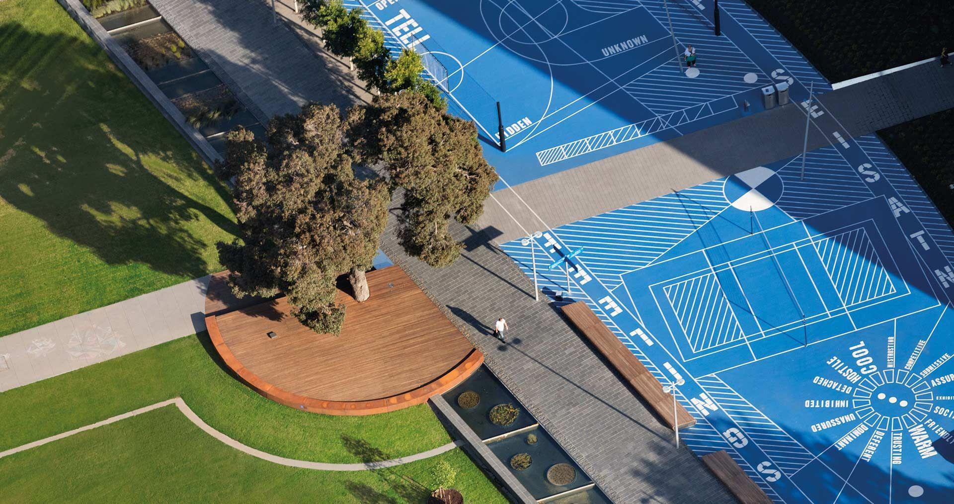 TCL_Monash-Uni-Caulfield-Campus-Green_-John-Gollings-00 « Landscape Architecture Works   Landezine