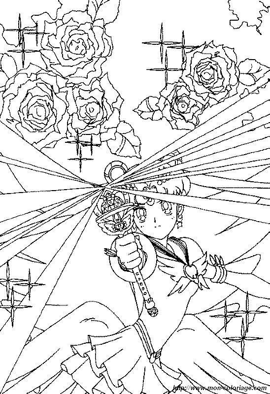ausmalbilder sailor moon bild magie sailor moon  sailor