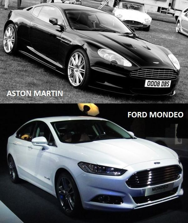 Aston Martin Vs Ford Mondeo >> Asemanari Aston Martin Vs Ford Mondeo Cars Pinterest Ford