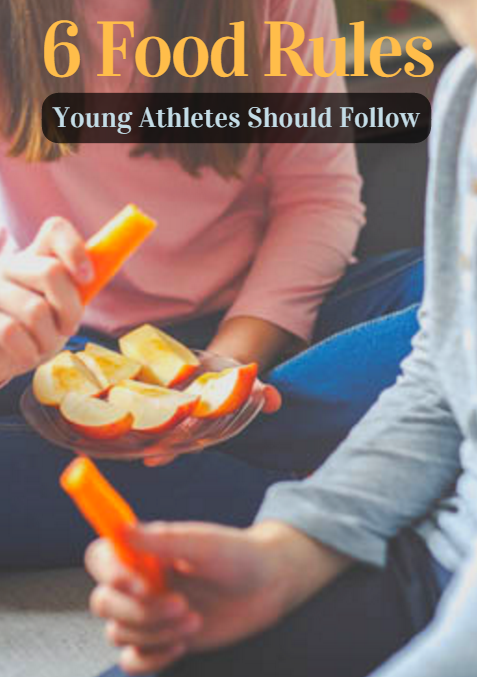 Young athletes face distractions that can keep them from eating properly. From school and homework to training and competition, they don't always pay attention to how they fuel their bodies or take the time to understand the role nutrition plays in supporting their training and goals.  6 Food Rules Young Athletes Should Follow http://www.activekids.com/food-and-nutrition/articles/6-food-rules-young-athletes-should-follow?cmp=17N-PB34-S14-T1---1071