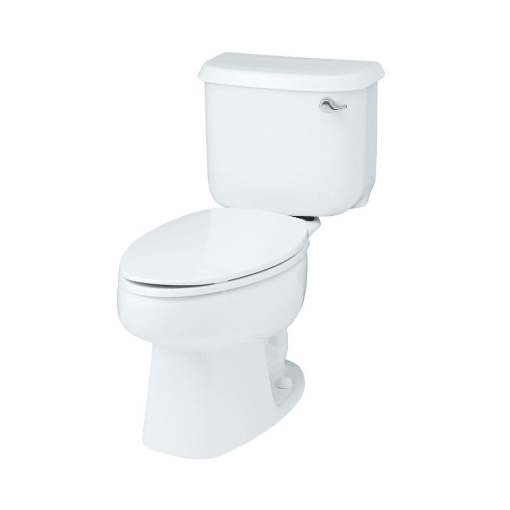 Windham Right Hand 1.6 GPF Elongated 2 Piece Toilet