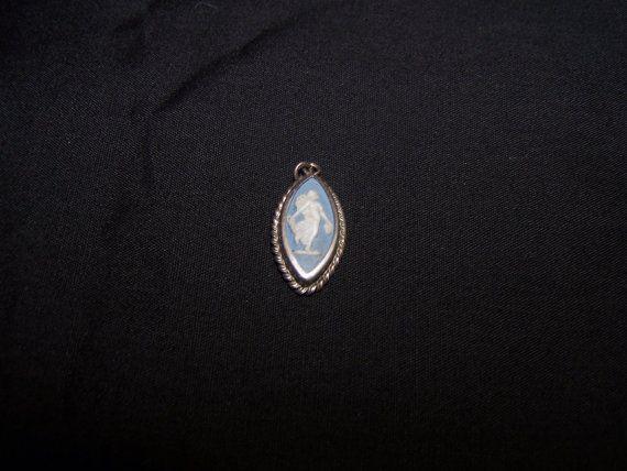 Vintage Blue Wedgwood Muse Mythology by VintageNoirBoutique, $25.00