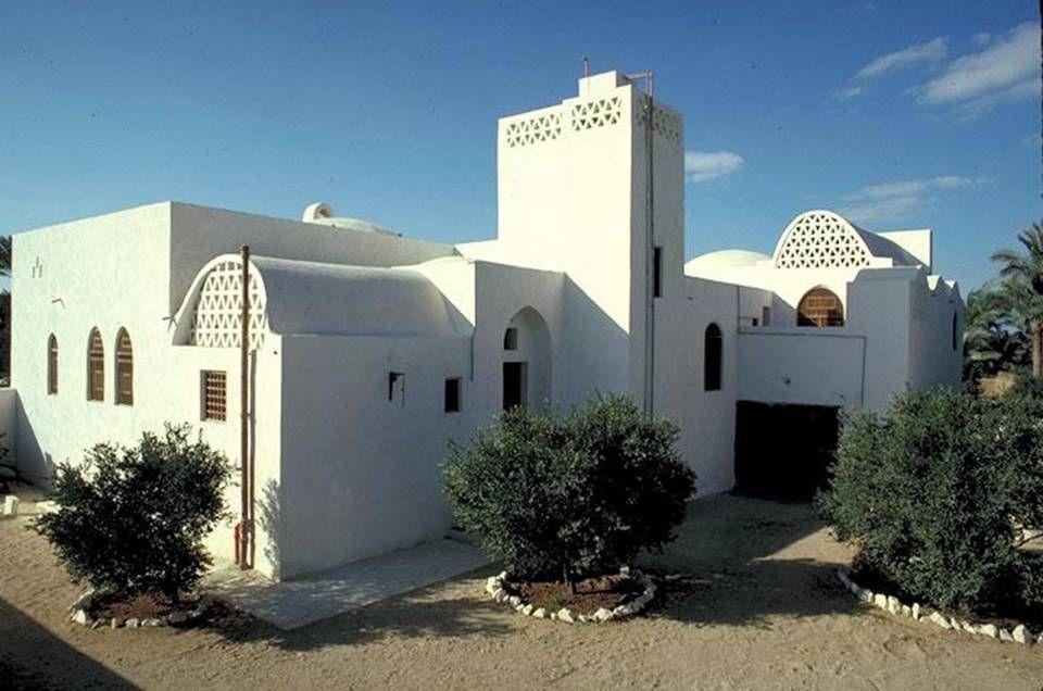 hassan fathy / akil sami residence, dahshur