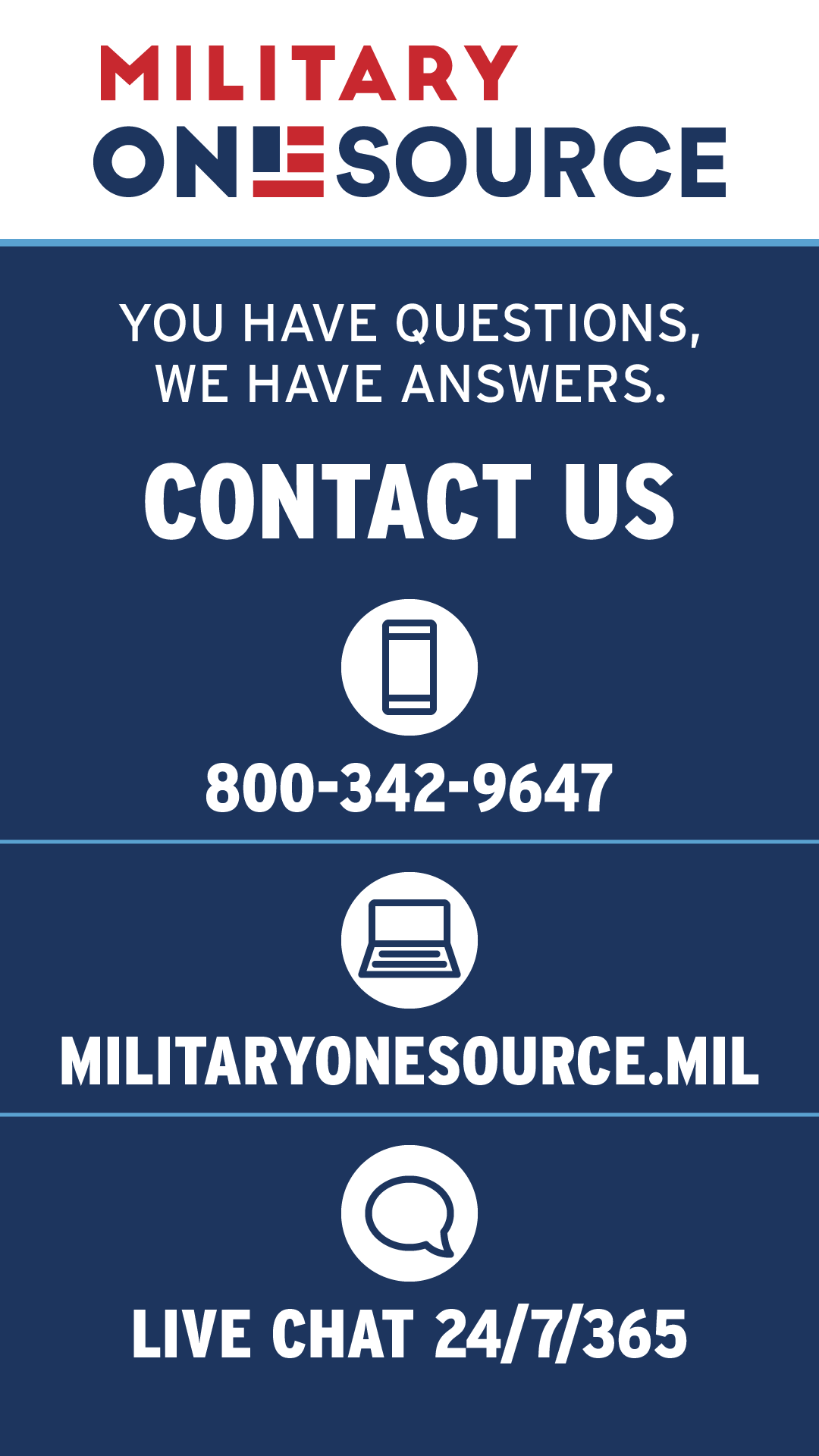No Matter What Your Millife Questions Are Military Onesource Can Help You Find An Answer Funny Good Morning Quotes Inspirational Words Military Resources
