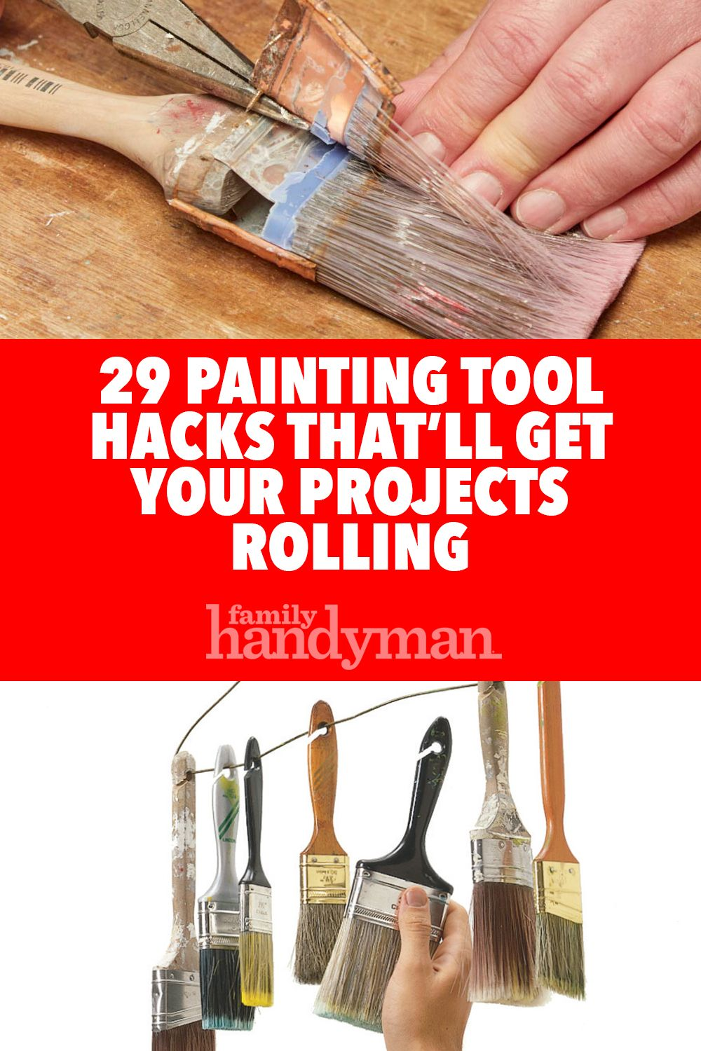 29 Painting Tool Hacks To Get Your Projects Rollin