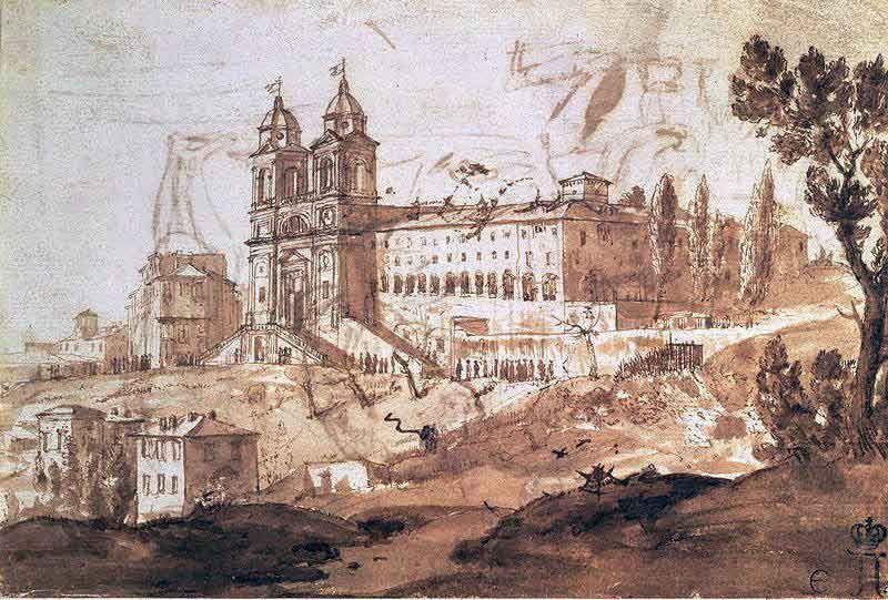 Небольшая картина, размером 20х14 см сегодня хранится в музее Эрмитаж, в Санкт-Петербурге, Россия