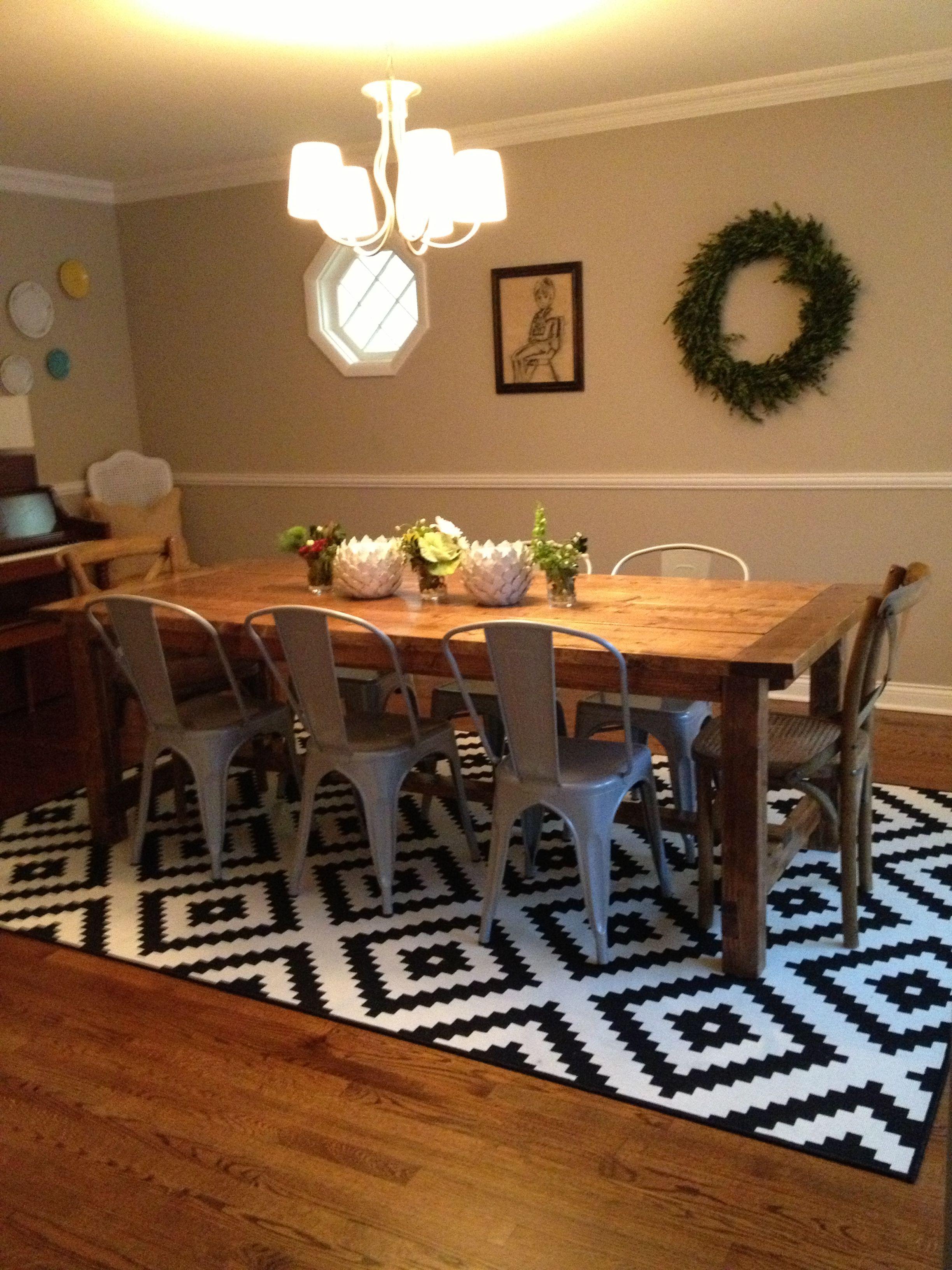farmhouse dining table. diy anawhite Farmhouse dining