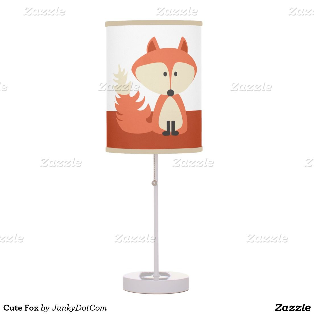 Cute Fox Table Lamp - Feb 28