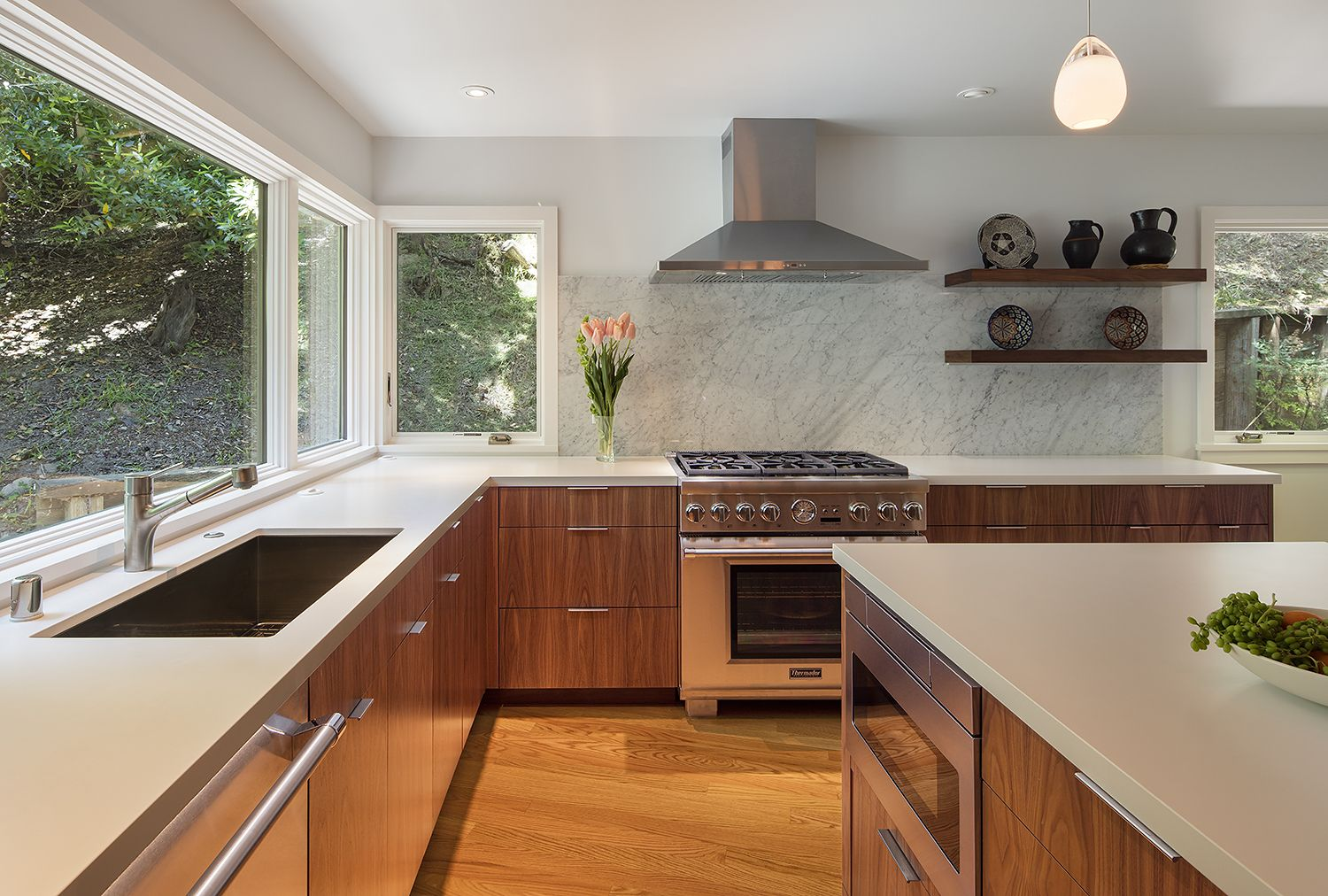 Best Pretentious Mid Century Kitchen Remodel Midcentury Modern 640 x 480