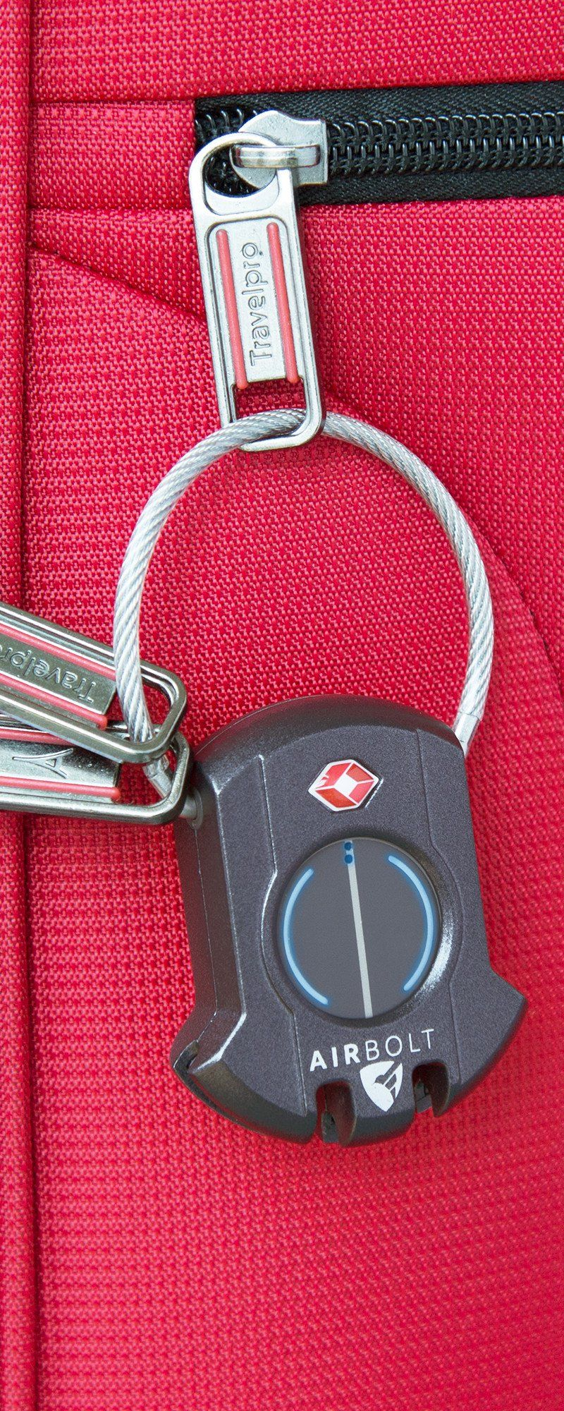 Lock Your Suitcase From Your Phone And Track It Too This Bluetooth Connected Lock Does Both And Gives The Option T Travel Lock Travel Packing Tips For Travel