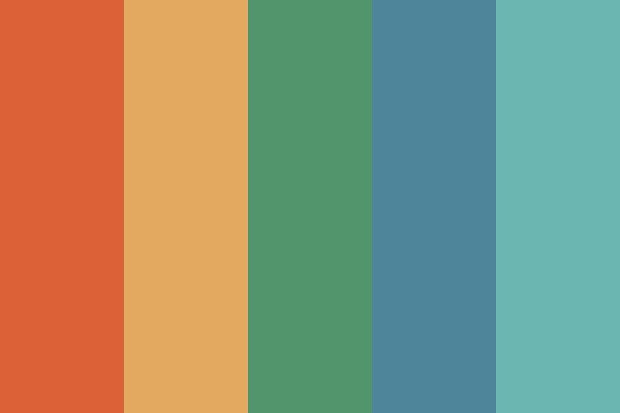 Rockin Retro Color Palette In 2020 Retro Color Palette Retro Color Hex Color Palette